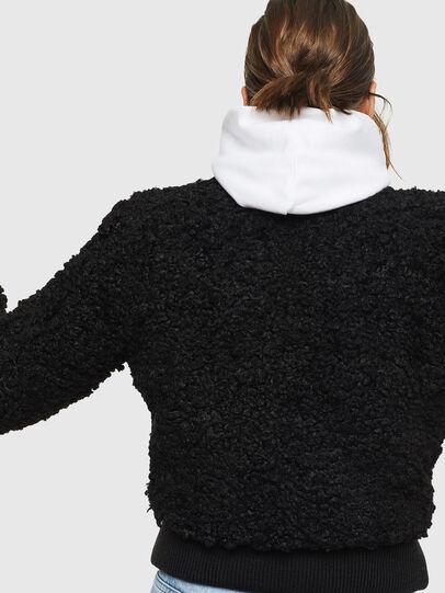 Diesel - L-TOSHA, Black - Leather jackets - Image 2