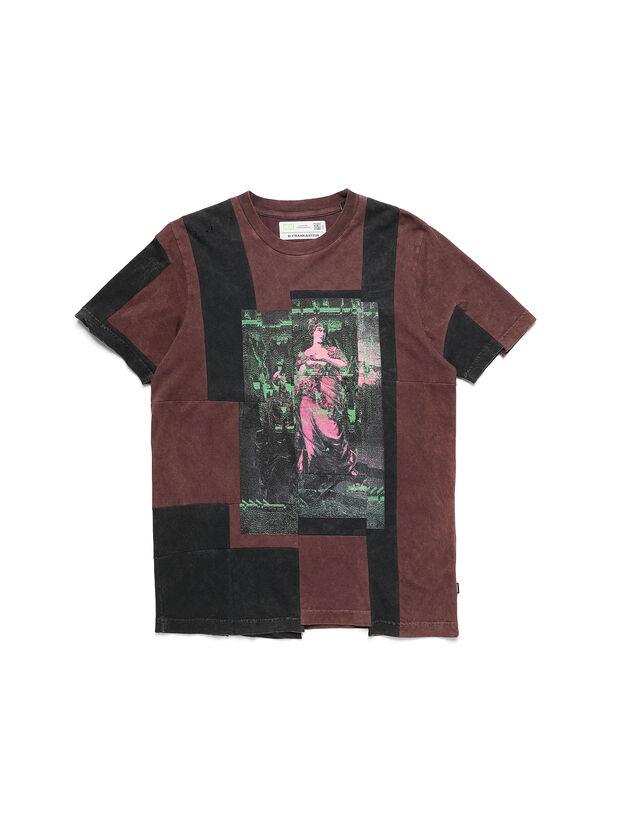 D-FRANK&STEIN, Burgundy - T-Shirts