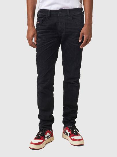 Diesel - Sleenker 09A75, Black/Dark grey - Jeans - Image 1