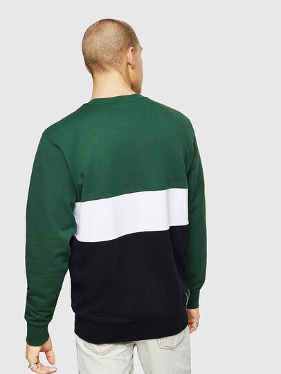 Diesel - S-GIR-CUT, Green/Black - Sweaters - Image 2