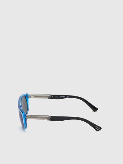 Diesel - DL0306, Blue/Black - Kid Eyewear - Image 3