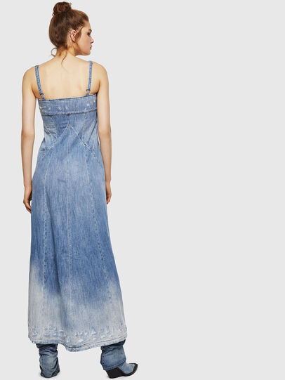 Diesel - DE-ARIN, Light Blue - Dresses - Image 2
