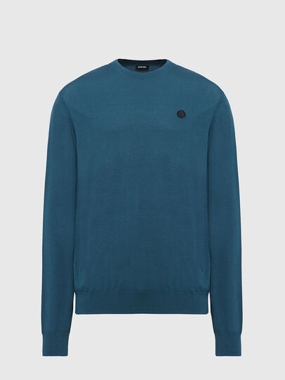 Diesel - K-CROFT, Water Green - Knitwear - Image 1