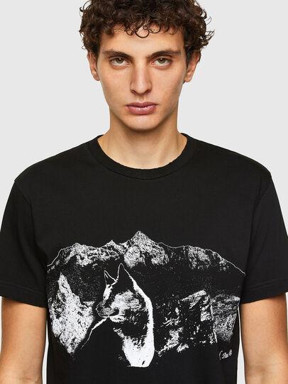 Diesel - T-DIEGOS-A7, Black - T-Shirts - Image 3