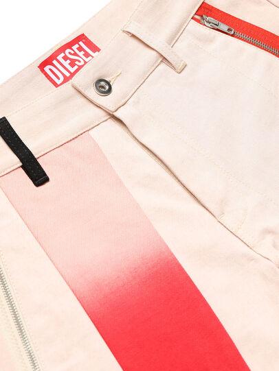 Diesel - GR02-P303-P, White - Shorts - Image 3