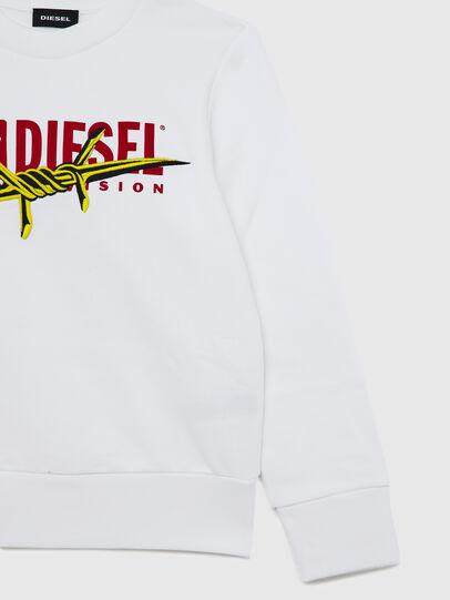 Diesel - SBAYBX5, White - Sweaters - Image 4