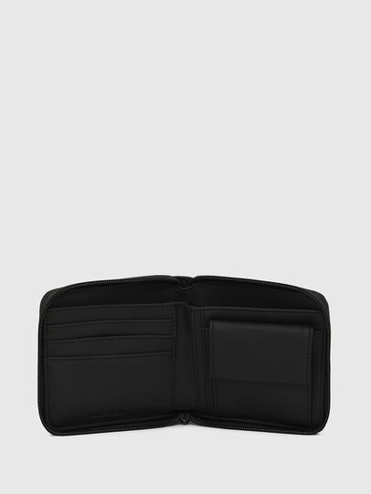 Diesel - ZIPPY HIRESH S, Black/Blue - Zip-Round Wallets - Image 3
