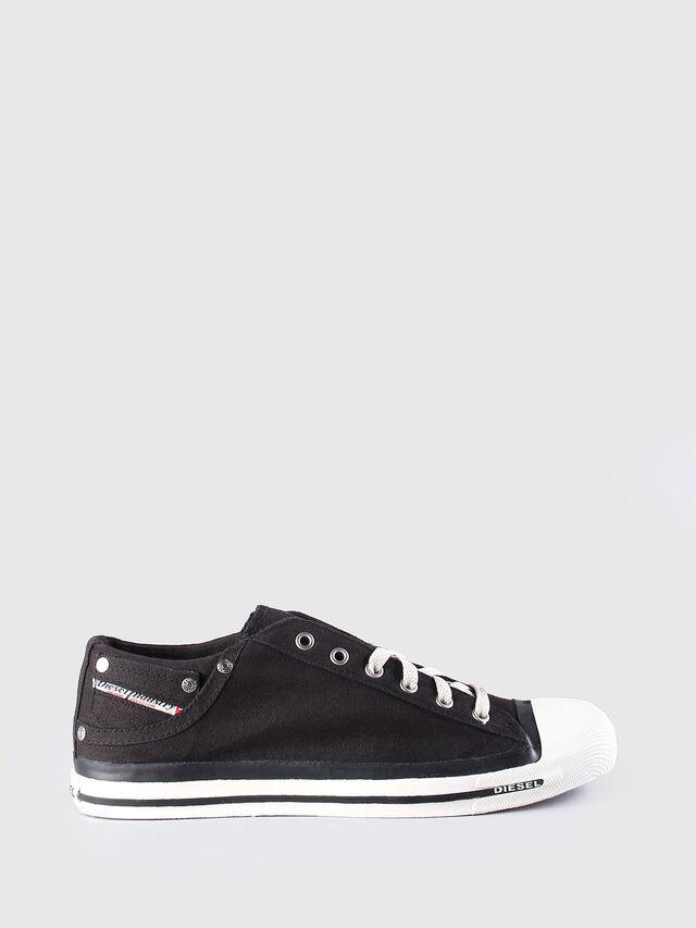Diesel - EXPOSURE LOW, Black - Sneakers - Image 1