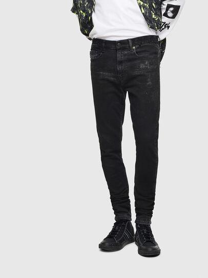 Diesel - D-Amny 009CE, Black/Dark grey - Jeans - Image 1