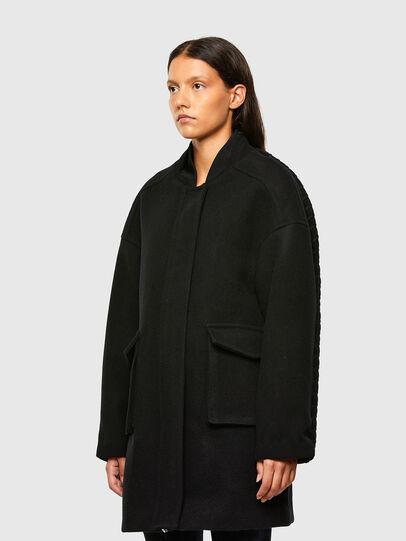 Diesel - W-LETHEA, Black - Winter Jackets - Image 8