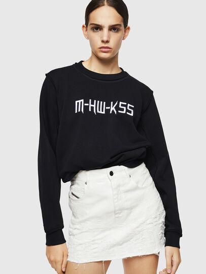 Diesel - F-LYANY-H, Black - Sweaters - Image 4