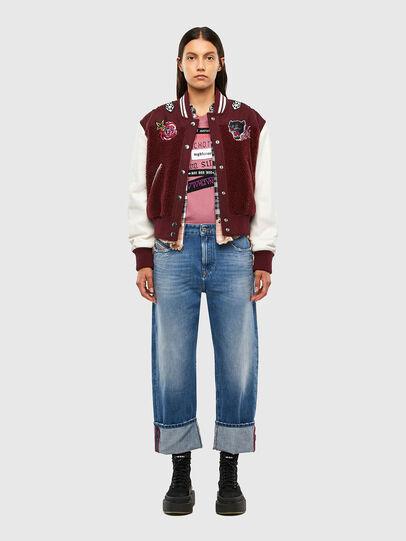 Diesel - L-KOLT, Violet - Leather jackets - Image 7
