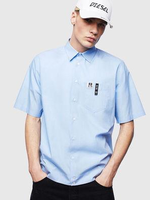 S-FRY-FLUO, Light Blue - Shirts