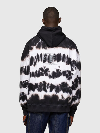 Diesel - S-UMMER-A83, Black/White - Sweaters - Image 2