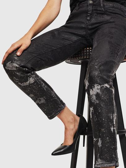 Diesel - D-Ollies JoggJeans 084AZ, Black/Dark grey - Jeans - Image 5