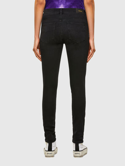 Diesel - D-Roisin 069MZ, Black/Dark grey - Jeans - Image 2