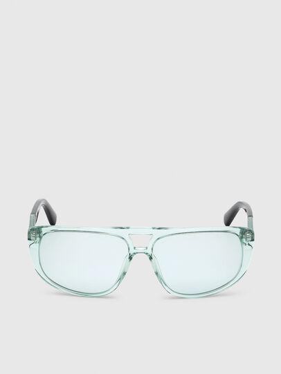 Diesel - DL0300, Light Blue - Sunglasses - Image 1