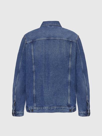 Diesel - D-SAL, Light Blue - Denim Jackets - Image 2