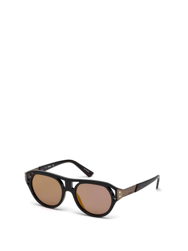 Diesel DL0233, Black - Eyewear - Image 6
