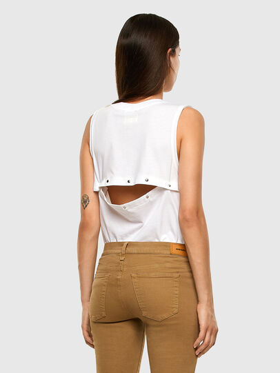 Diesel - T-ABBA, White - Tops - Image 4