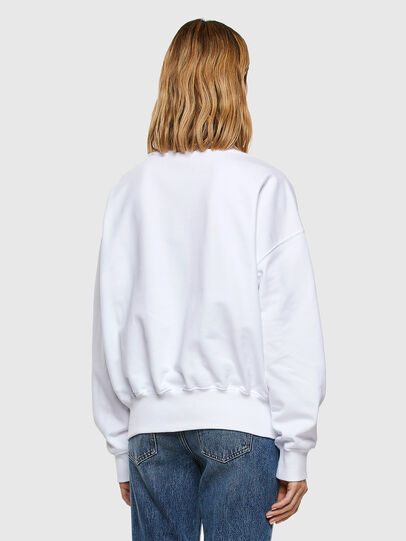 Diesel - F-MAGDA-E40, White - Sweaters - Image 5