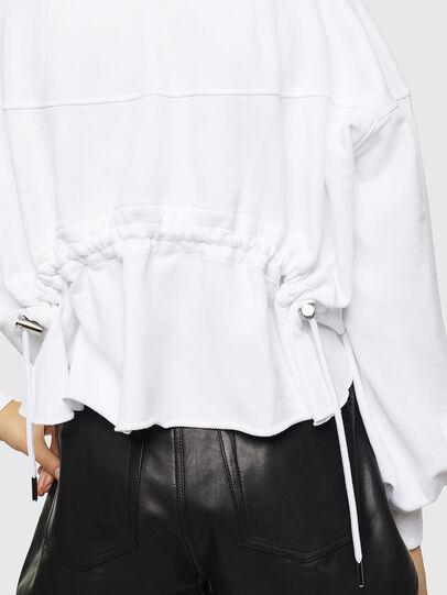 Diesel - F-MONDY, White - Sweaters - Image 5