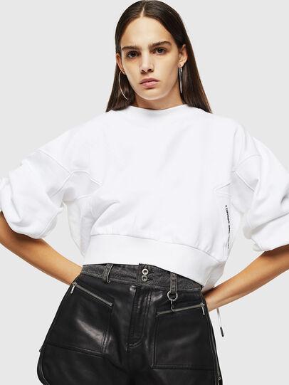 Diesel - F-MONDY, White - Sweaters - Image 4