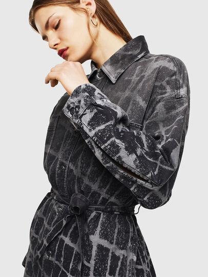 Diesel - D-PINKIES-SP JOGGJEANS, Black/Dark grey - Dresses - Image 5