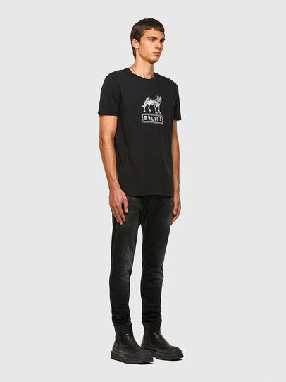 Diesel - T-DIEGOS-N20, Black - T-Shirts - Image 4