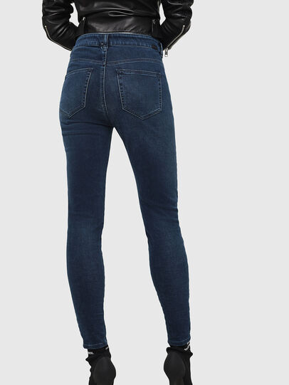 Diesel - Slandy High 084UT, Dark Blue - Jeans - Image 2