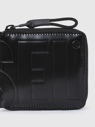 Diesel - ZIPPY HIRESH S II, Black - Small Wallets - Image 4
