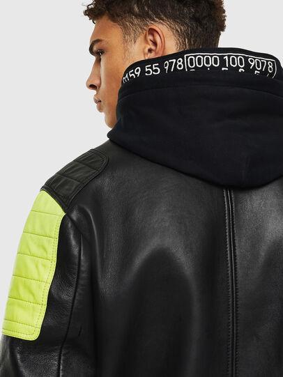 Diesel - L-BRANDO,  - Leather jackets - Image 5