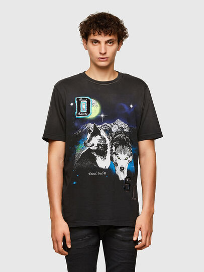 Diesel - T-JUST-A37, Black - T-Shirts - Image 1