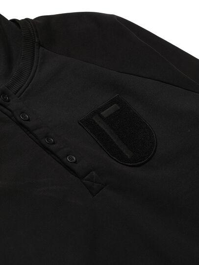 Diesel - GR02-T302, Black - Sweatshirts - Image 4