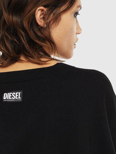 Diesel - M-OCIAME, Black - Knitwear - Image 5