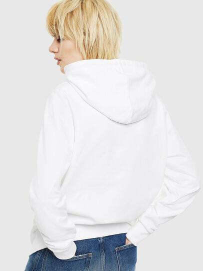 Diesel - S-GIRK-HOOD-S1, White - Sweaters - Image 4