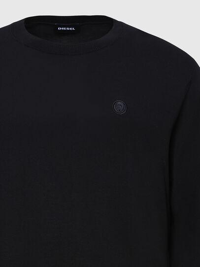 Diesel - K-CROFT, Black - Knitwear - Image 3