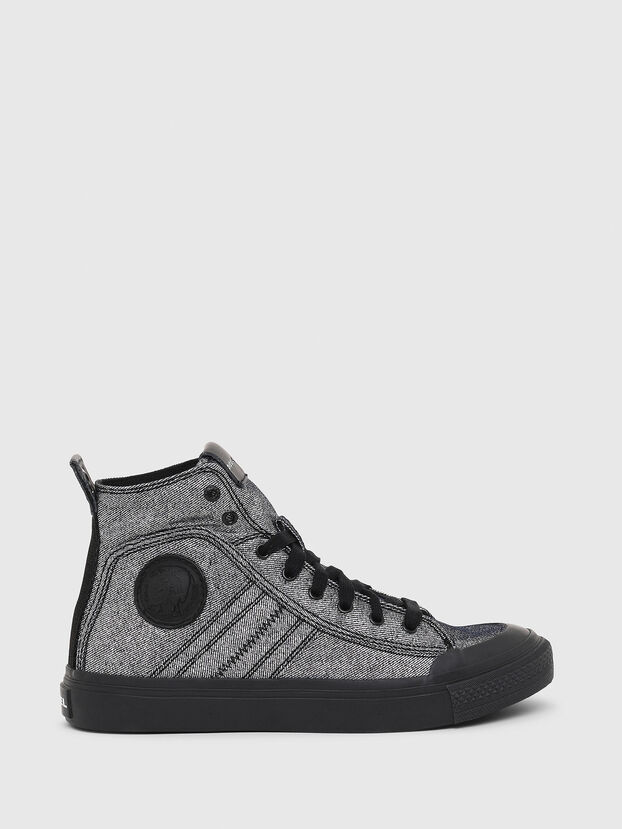 S-ASTICO MID LACE W, Grey - Sneakers