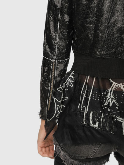 Diesel - L-LYSSA-D,  - Leather jackets - Image 4