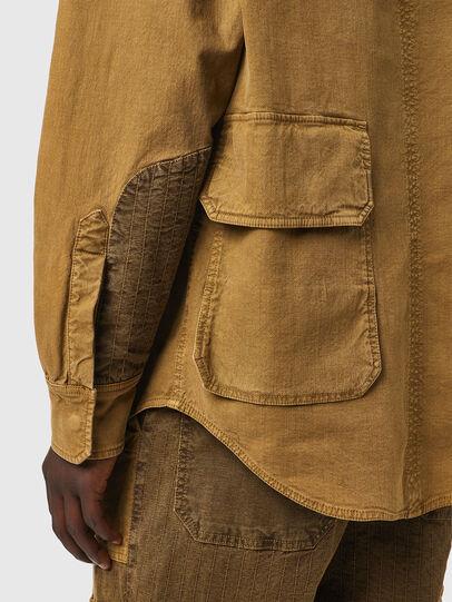 Diesel - D-CORUS-SP3 JOGGJEANS, Brown - Denim Shirts - Image 5