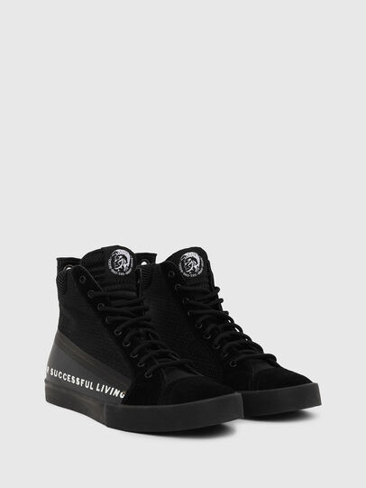 Diesel - S-DVELOWS MID, Black - Sneakers - Image 2