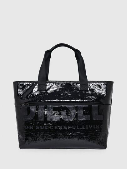 Diesel - F-BOLD SHOPPER III, Black - Shopping and Shoulder Bags - Image 1