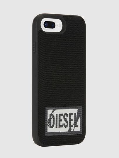 Diesel - BLACK DENIM IPHONE 8 PLUS/7 PLUS/6S PLUS/6 PLUS CASE, Black - Cases - Image 5