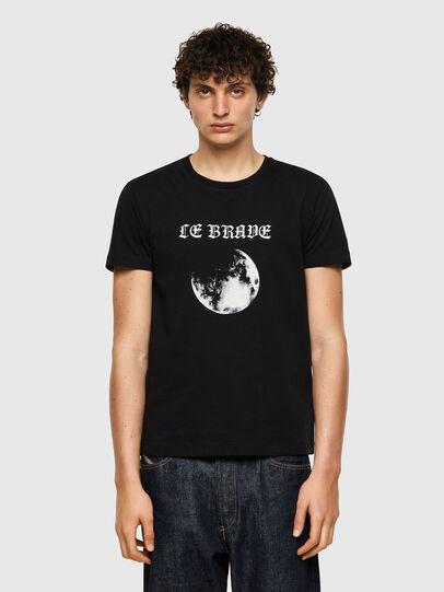 Diesel - T-INY-B1, Black - T-Shirts - Image 1