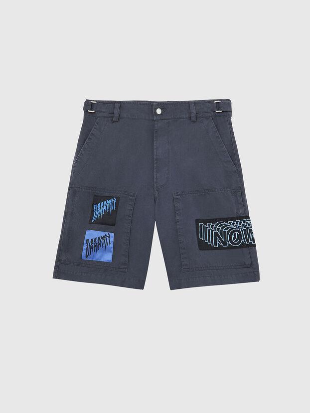 P-DUGA-SHO, Dark grey - Shorts