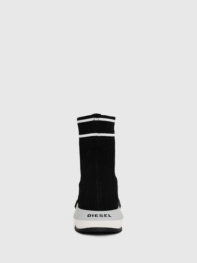 Diesel - H-PADOLA NET W, Black - Sneakers - Image 4