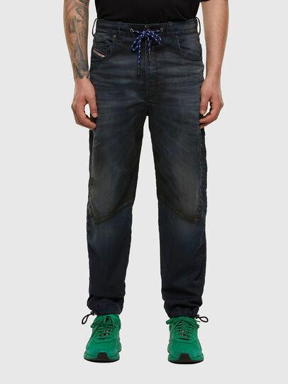 Diesel - D-Skint JoggJeans 069PE, Dark Blue - Jeans - Image 1