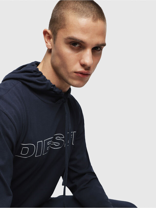 Diesel - UMLT-JIMMY, Night Blue - T-Shirts - Image 3