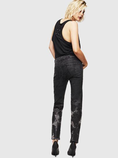 Diesel - D-Ollies JoggJeans 084AZ, Black/Dark grey - Jeans - Image 2