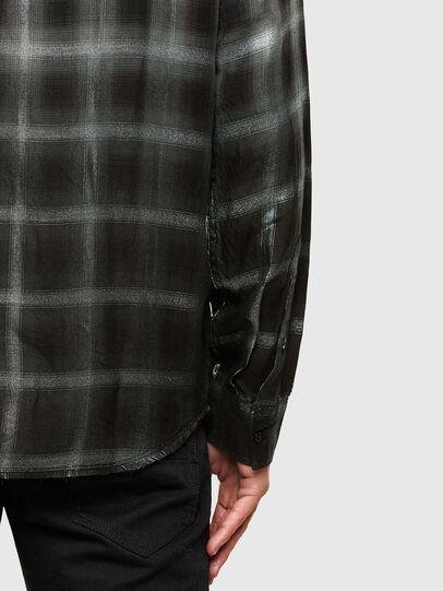 Diesel - S-KEITH, Black/White - Shirts - Image 4